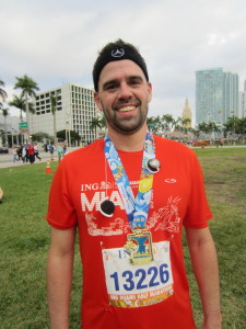 David Does 13.1 miles