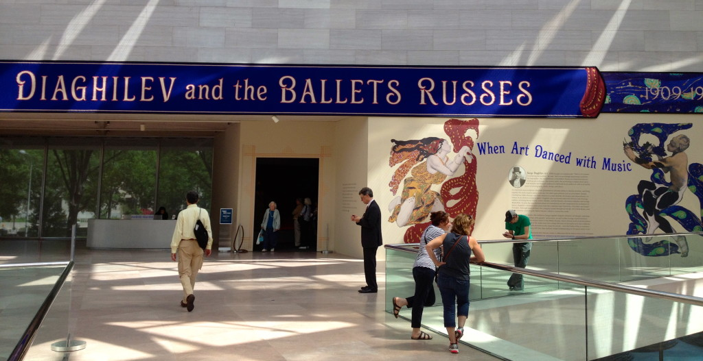 Diaghilev and the Ballets Russes at Natl Gallery