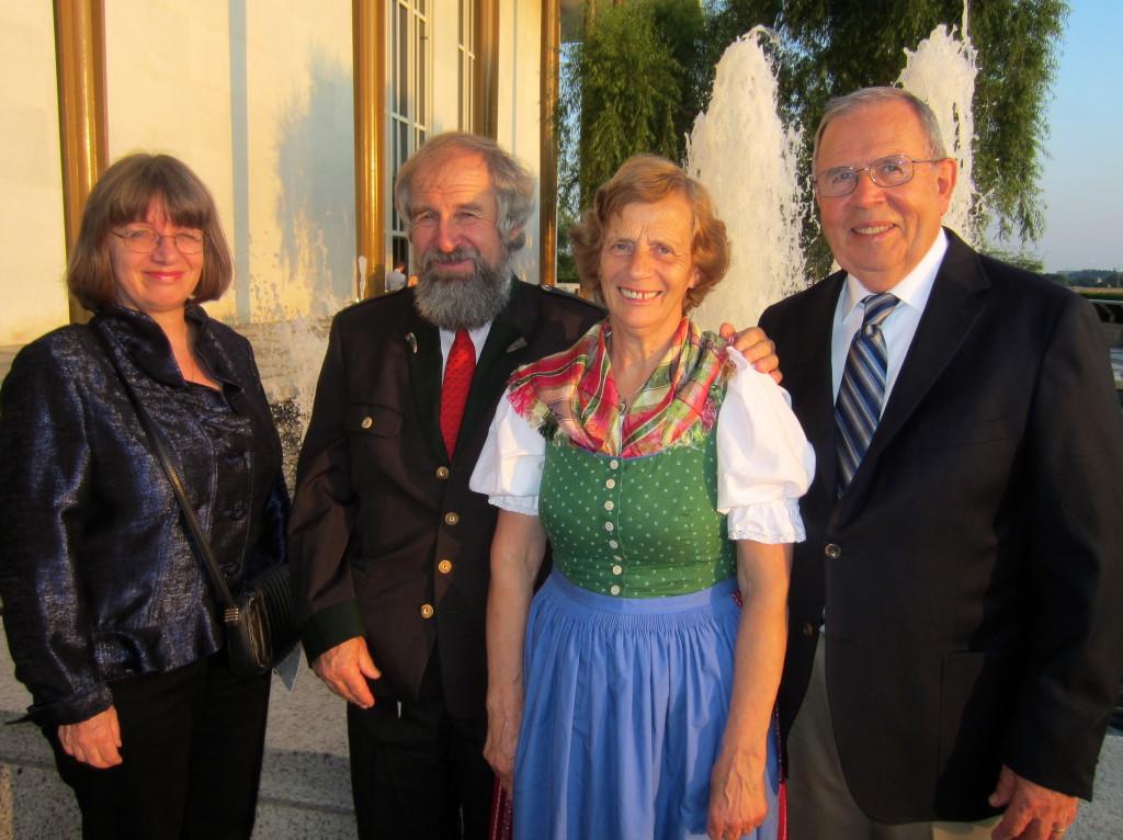 Elisabeth, Peter, Hermine, Joel