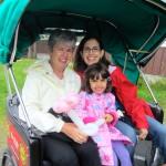 Visiting the Sitka Seafood Festival via pedicab