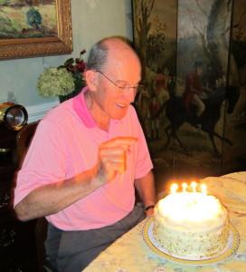 Steve celebrates 70 years