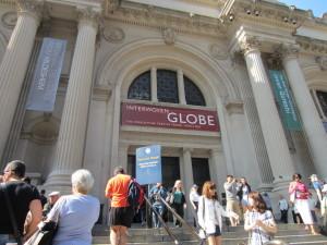 Interwoven Globe at the Met Museum