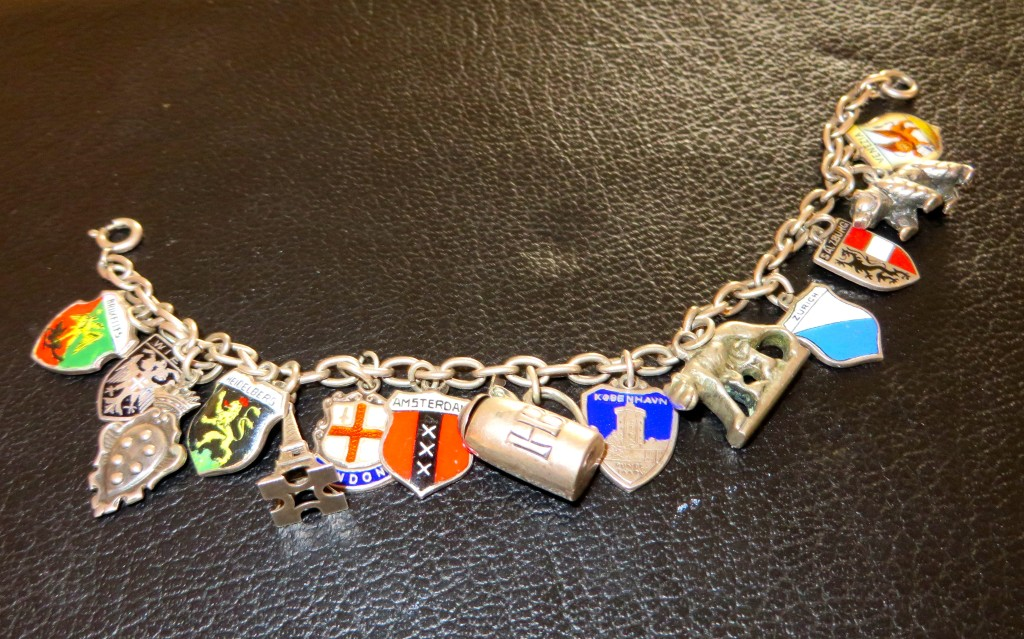 European city charm bracelet