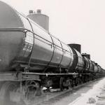 Train cars in Phillips