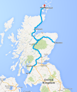Travels in Scotland, Aug 2014