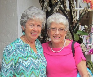 With Margaret in Palm Beach, April 2015