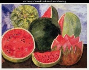 Frida Kahlo's last painting, Viva la Vida