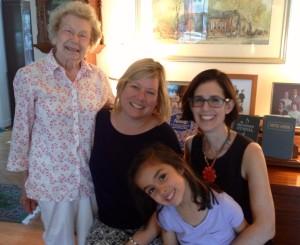 Nellie, Pam, Violet, Lilli