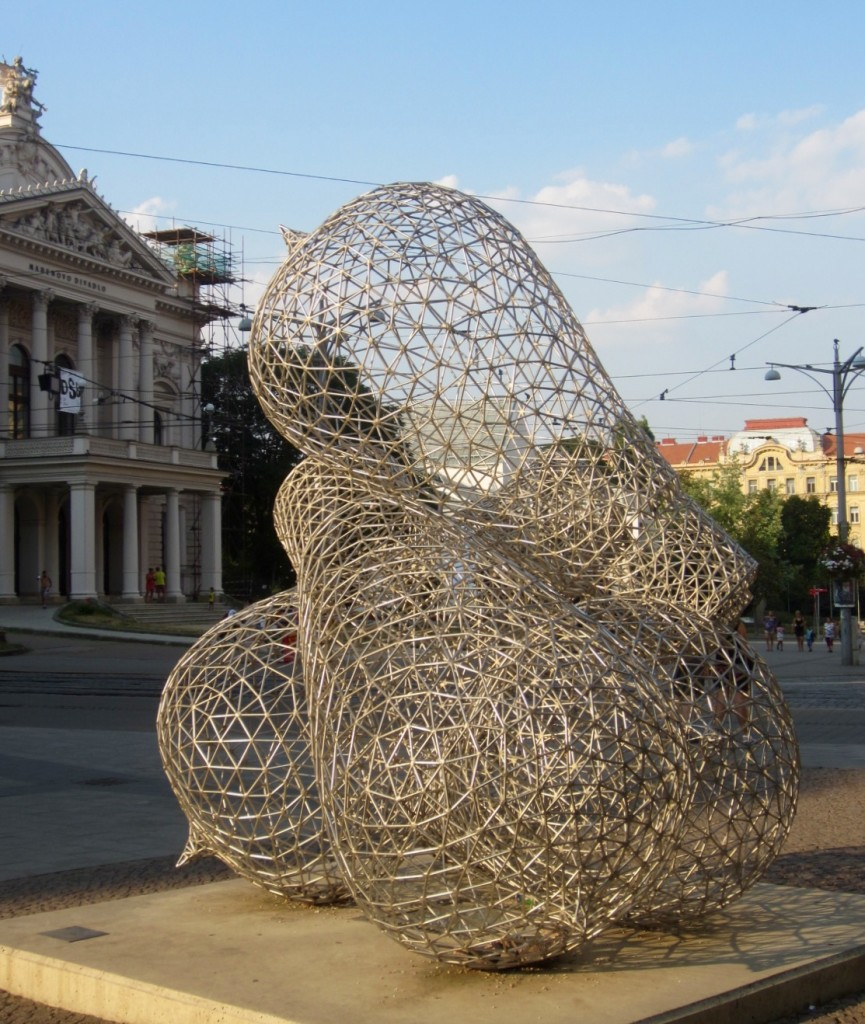 Edison Memorial, Brno (photo by Lilli Smith)