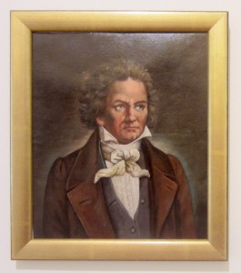 Beethoven when he lived in Baden