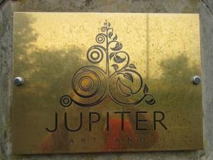 Jupiter Artland sign