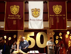Brown College 50th Anniversary