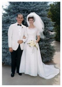 Martha & Steve, Borger TX, June 11, 1966