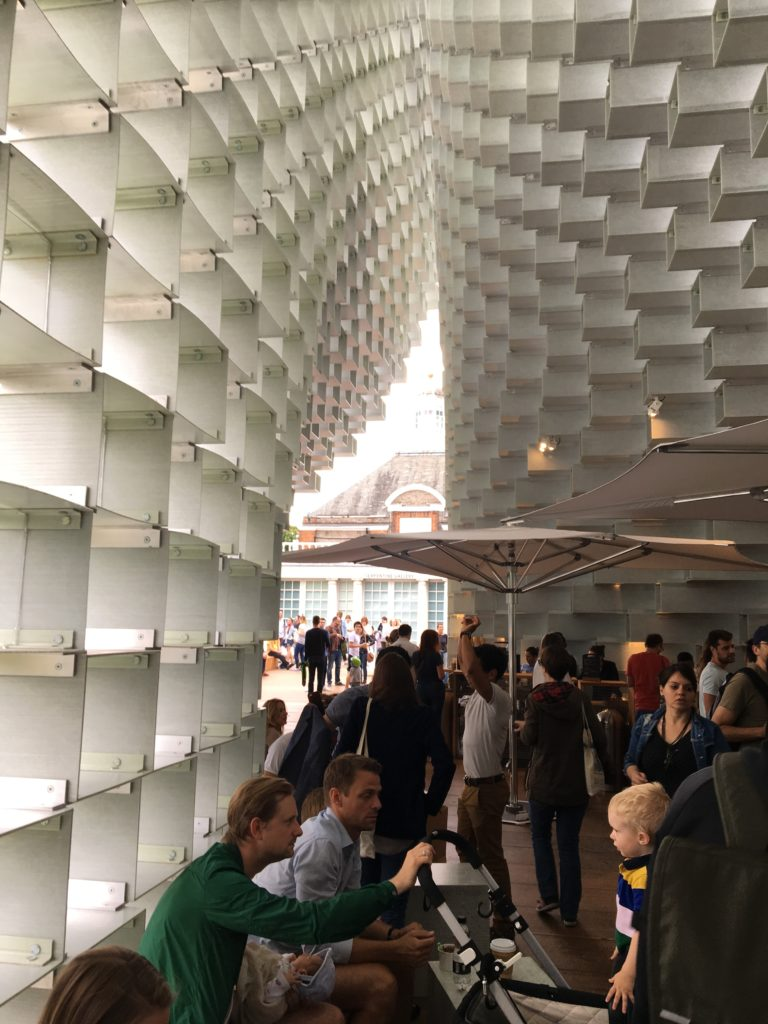 Serpentine Pavilion, interior