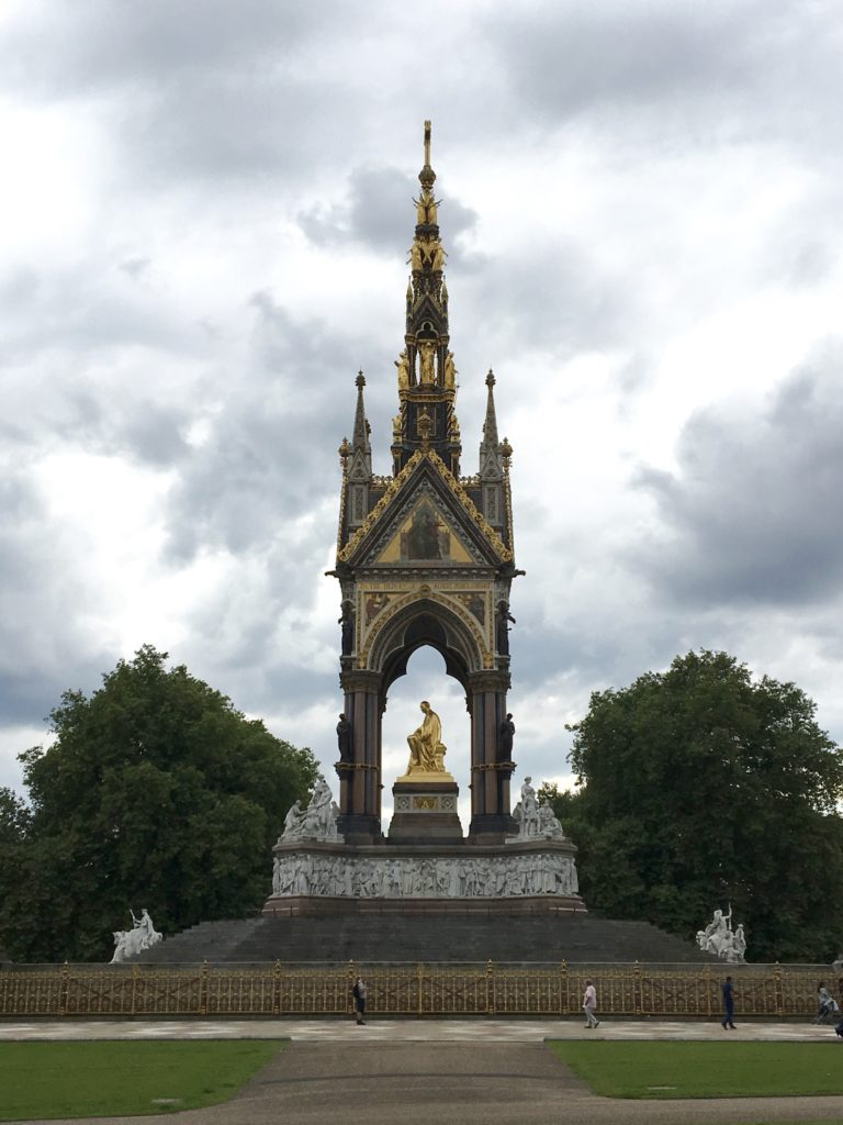 Prince Albert Memorial, from a distance
