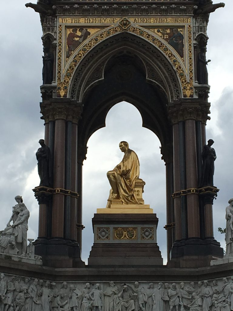 Prince Albert Memorial, close-up