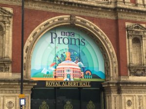 BBC Proms Concerts at royal Albert Hall, London