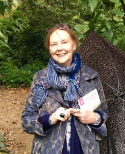 Anne Rennie at Chelsea Physic Garden