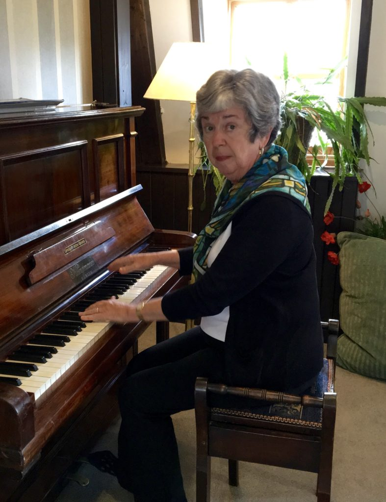 Ullapool hotel piano