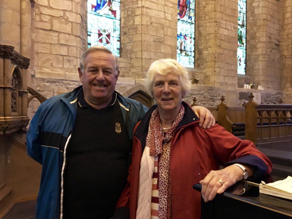 John & Sheila Duncan, Dornoch Cathedral