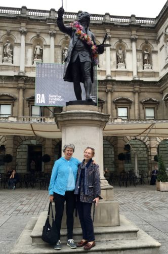 MKS & Anne at Royal Academy of Arts