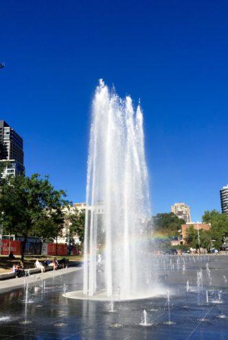 Fountain, Quartier des Spectacles